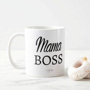 mama boss mug