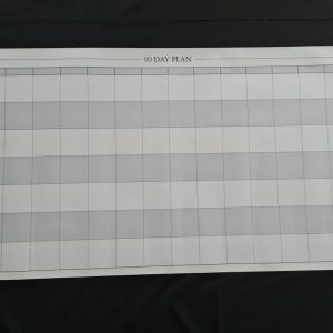 Large reusable wall planner