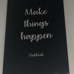 make things happen notebook